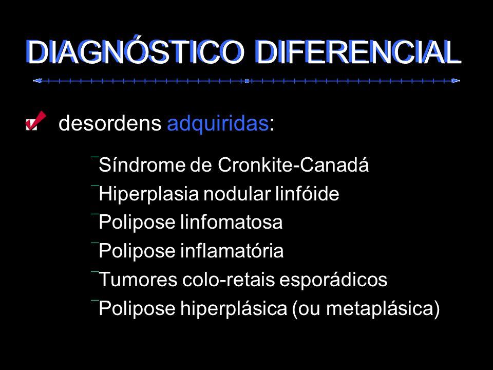 DIAGNÓSTICO DIFERENCIAL DIAGNÓSTICO DIFERENCIAL