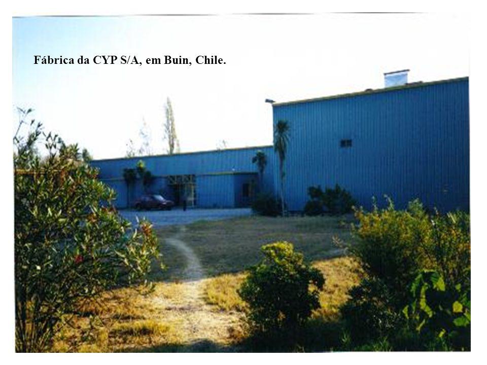 Fábrica da CYP S/A, em Buin, Chile.