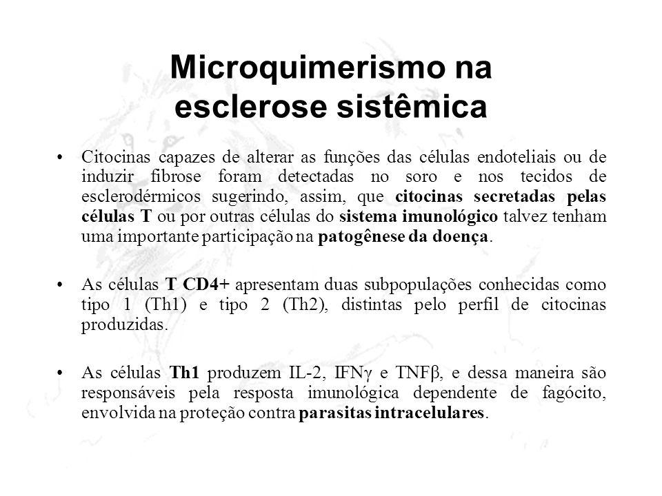 Microquimerismo na esclerose sistêmica