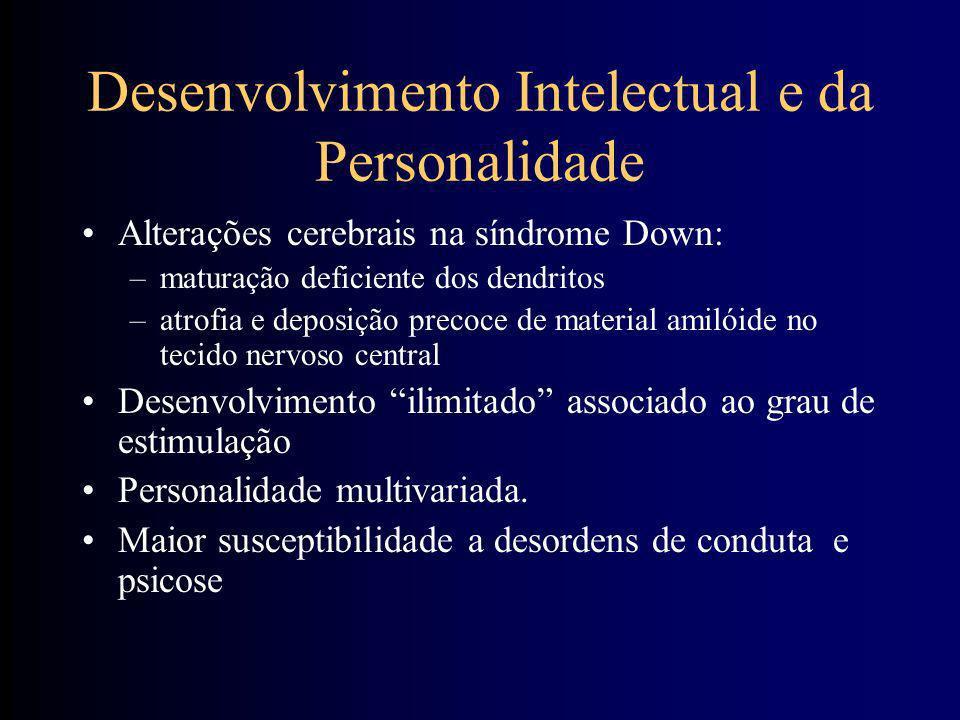 Desenvolvimento Intelectual e da Personalidade