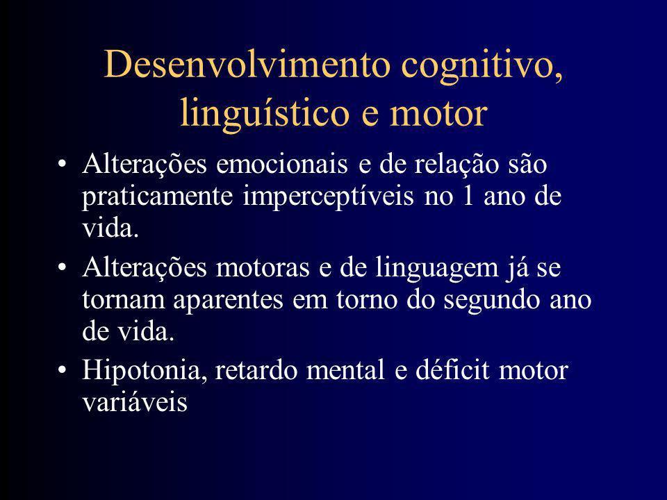 Desenvolvimento cognitivo, linguístico e motor