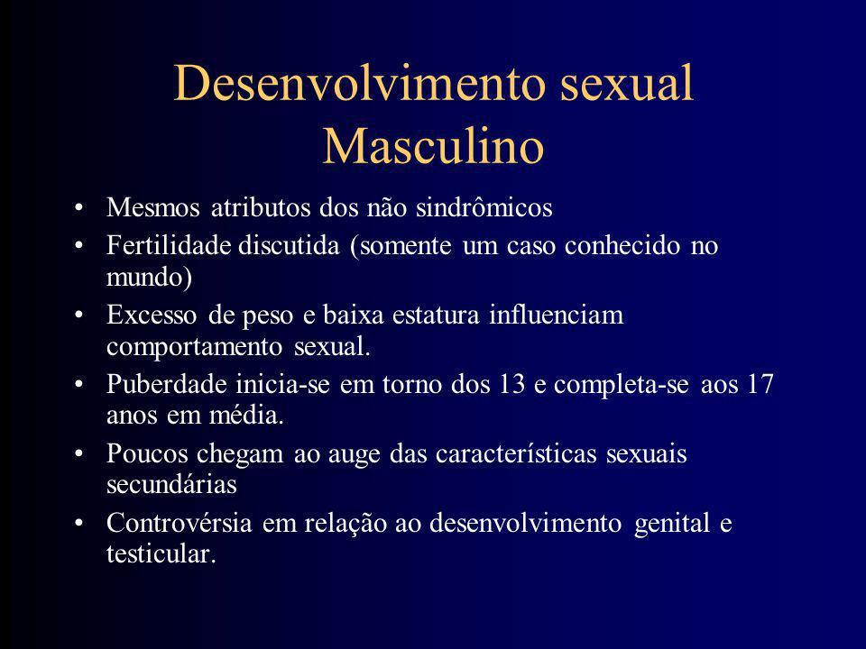 Desenvolvimento sexual Masculino