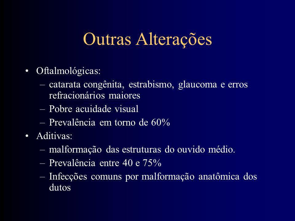 Outras Alterações Oftalmológicas: