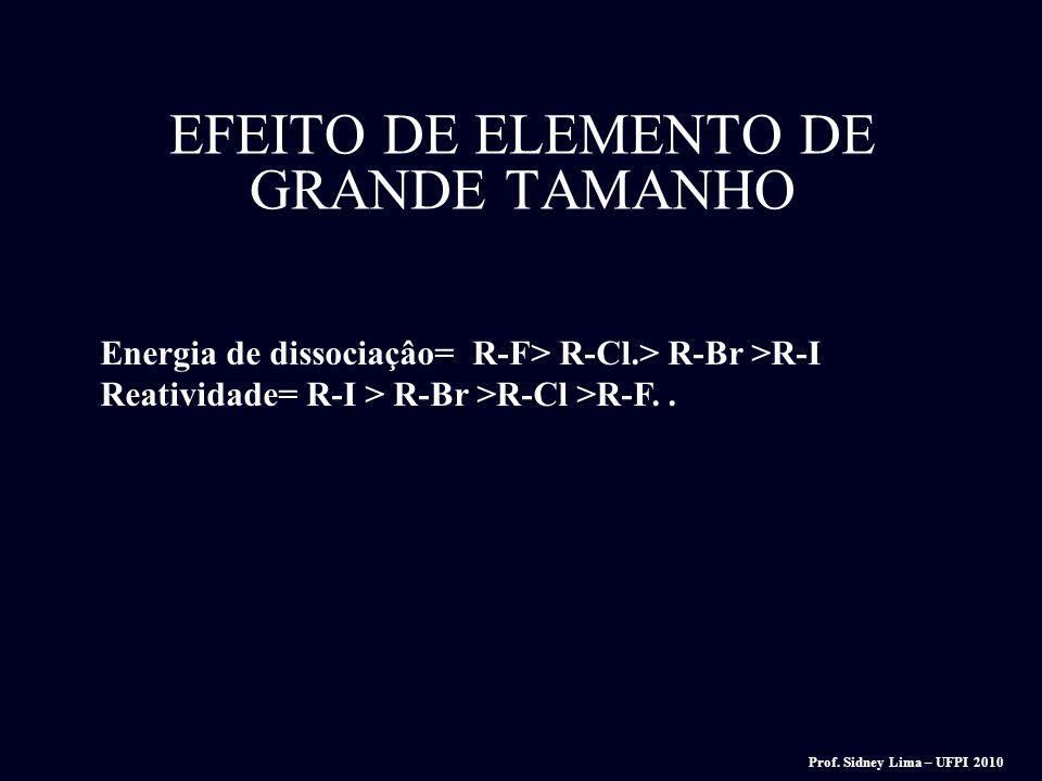 EFEITO DE ELEMENTO DE GRANDE TAMANHO