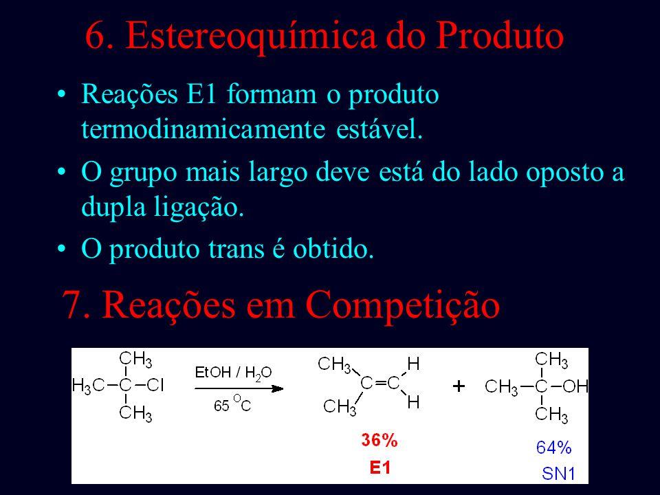6. Estereoquímica do Produto