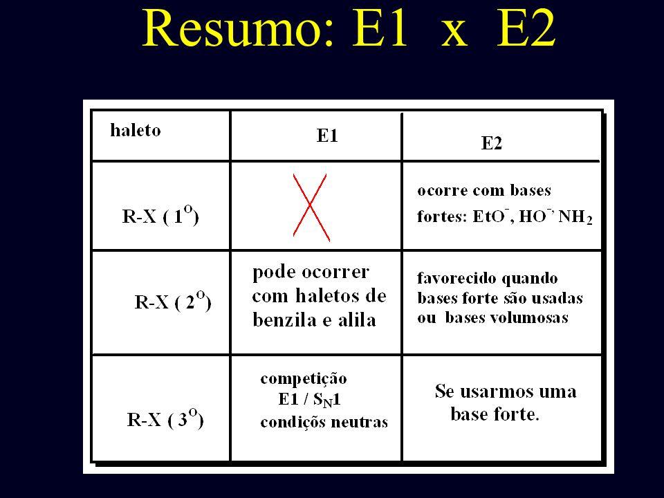 Resumo: E1 x E2