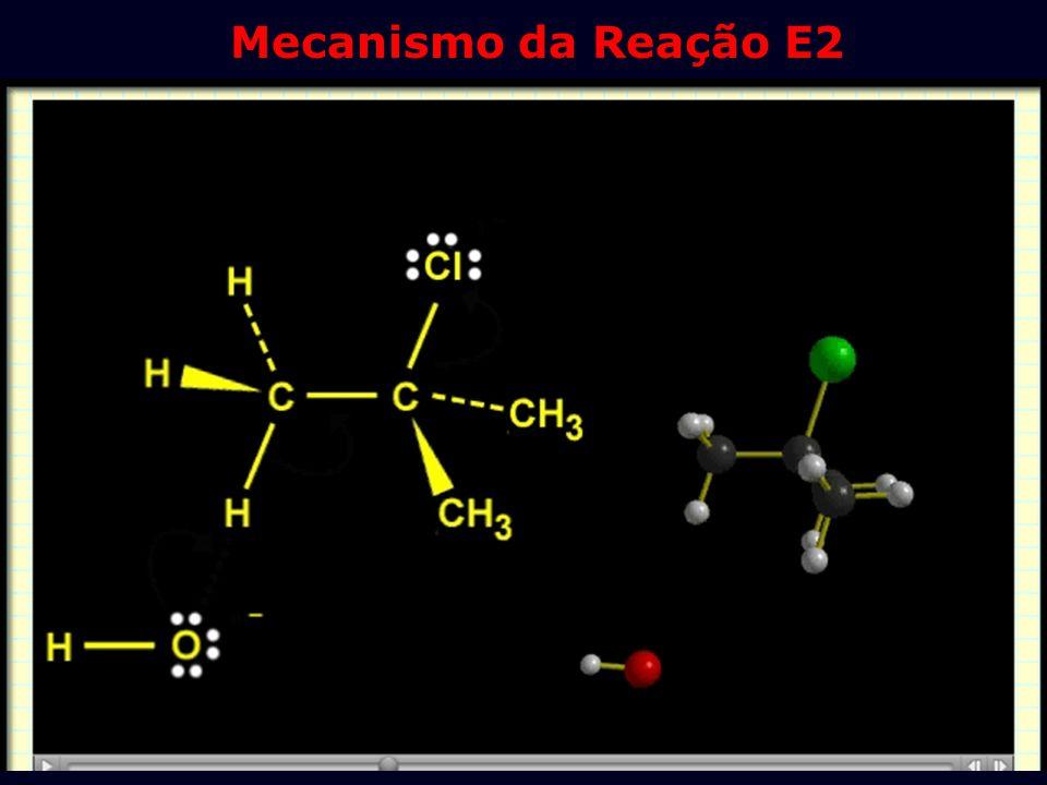 Mecanismo da Reação E2