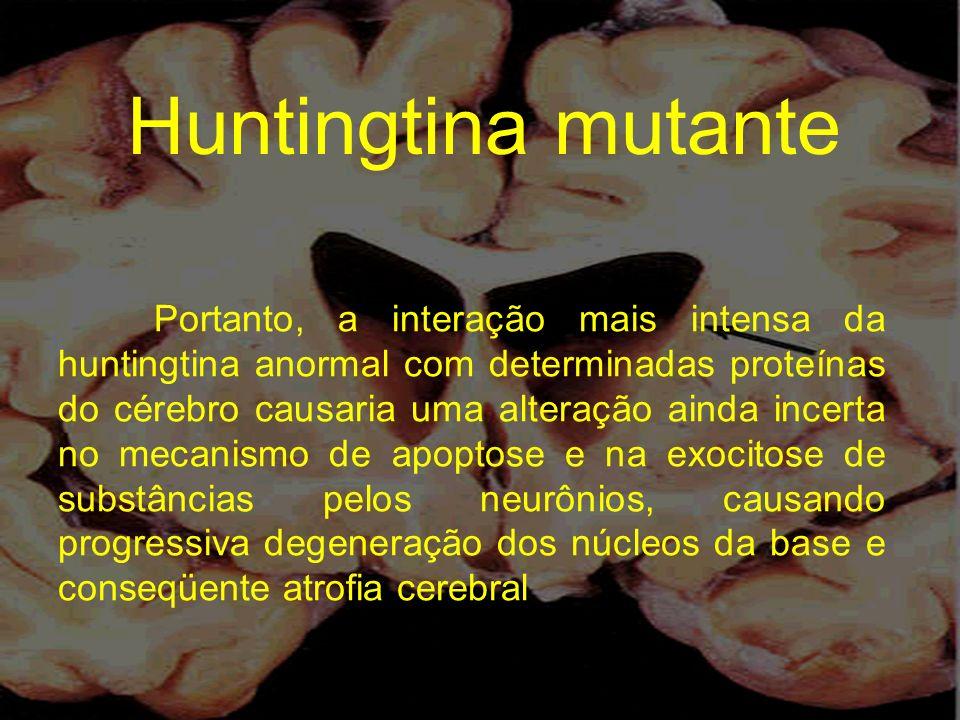Huntingtina mutante