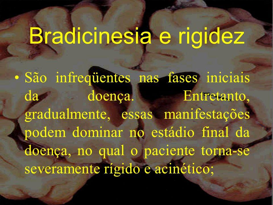 Bradicinesia e rigidez