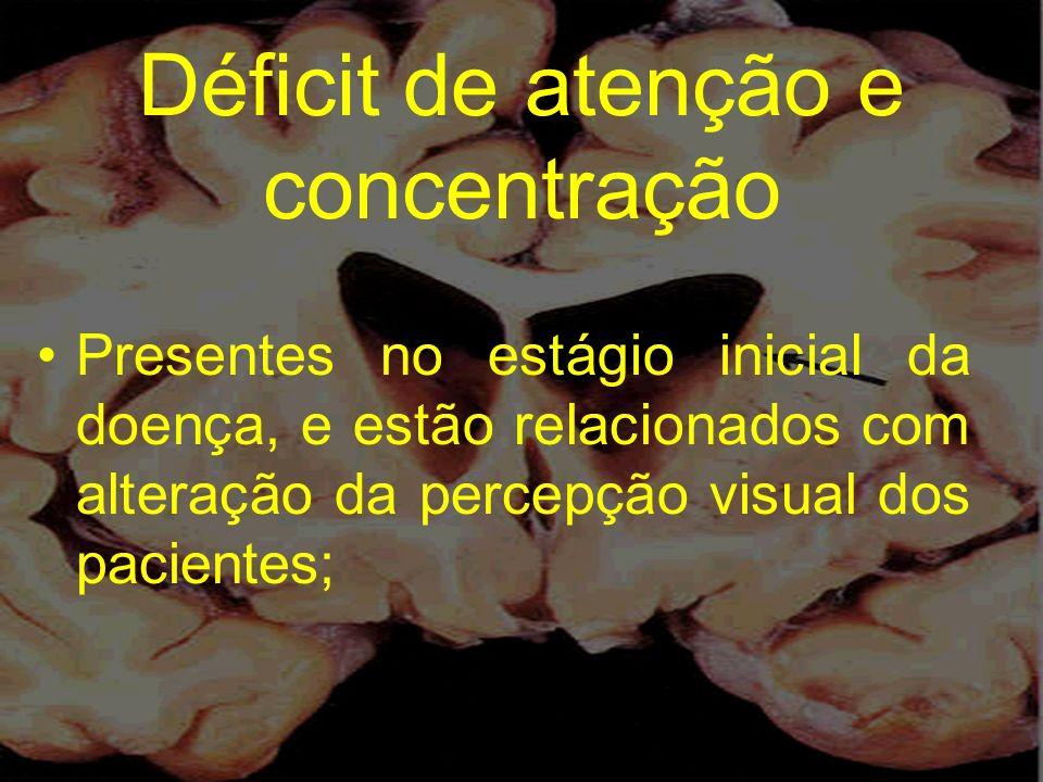 Déficit de atenção e concentração