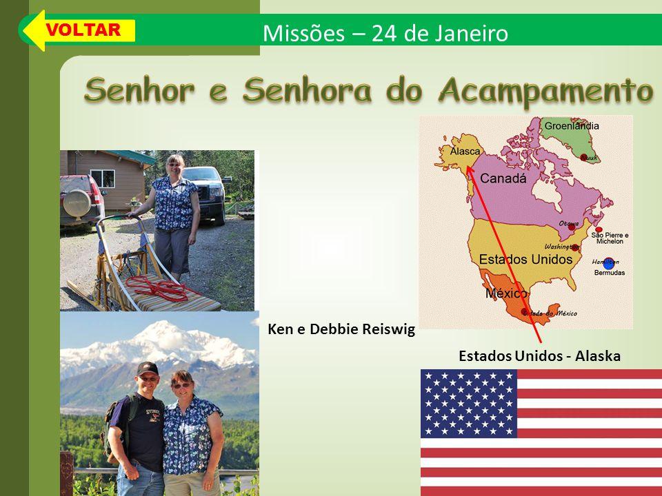 Senhor e Senhora do Acampamento Estados Unidos - Alaska
