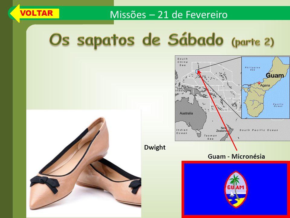Os sapatos de Sábado (parte 2)