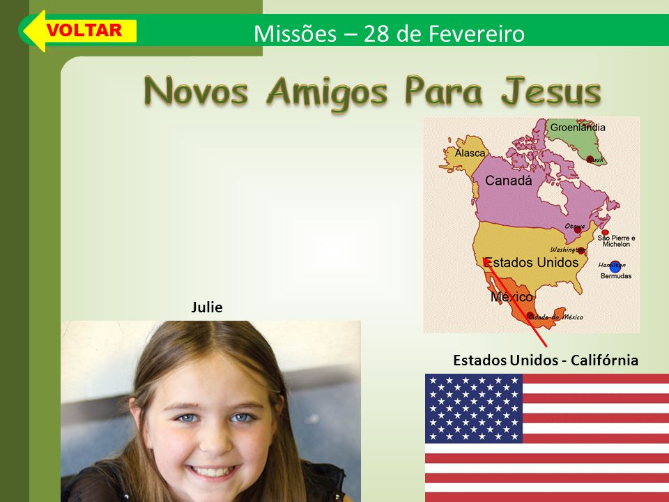 Novos Amigos Para Jesus Estados Unidos - Califórnia