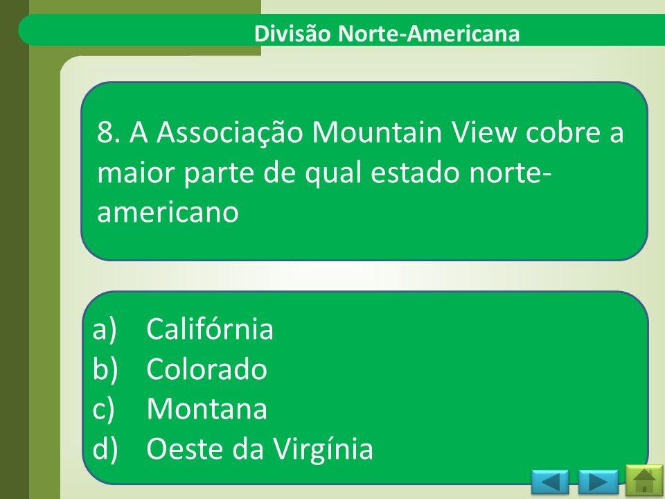 Divisão Norte-Americana