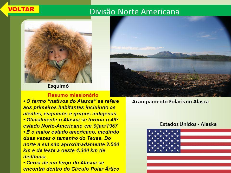 Acampamento Polaris no Alasca Estados Unidos - Alaska