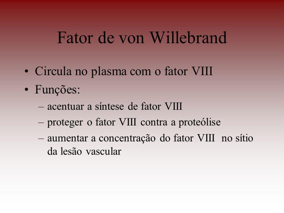 Fator de von Willebrand
