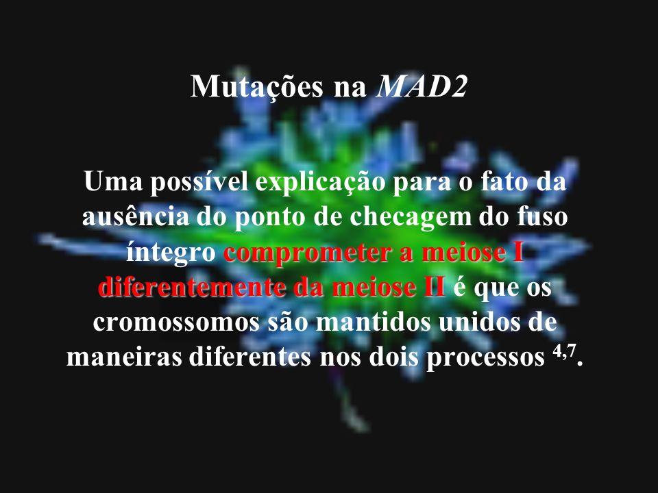 Mutações na MAD2