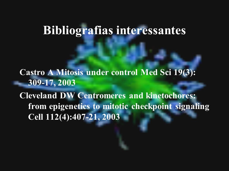 Bibliografias interessantes