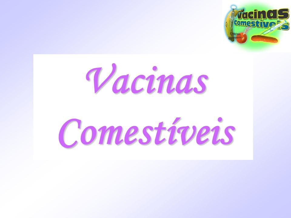 Vacinas Comestíveis