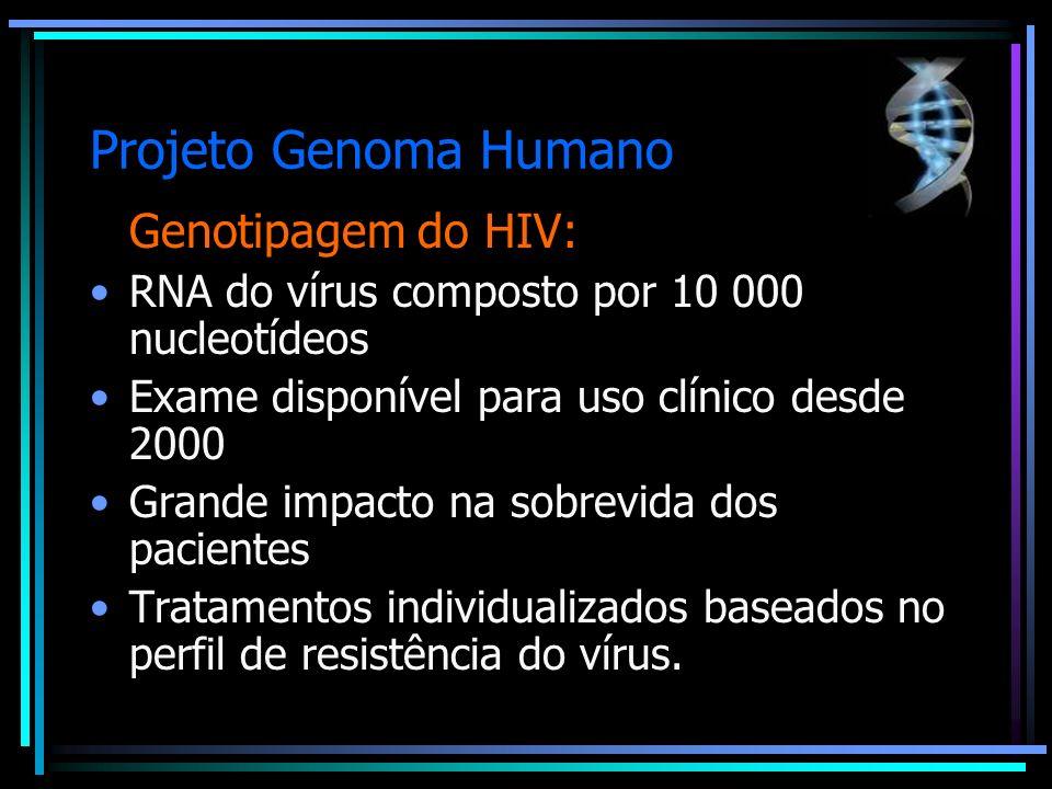 Projeto Genoma Humano Genotipagem do HIV: