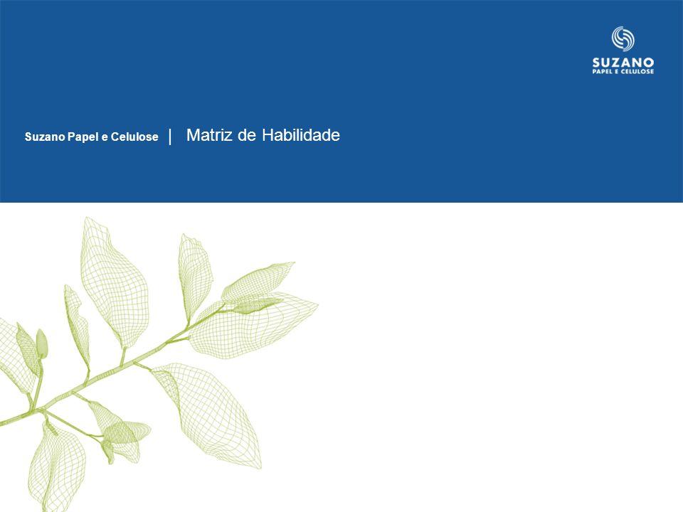 Suzano Papel e Celulose | Matriz de Habilidade