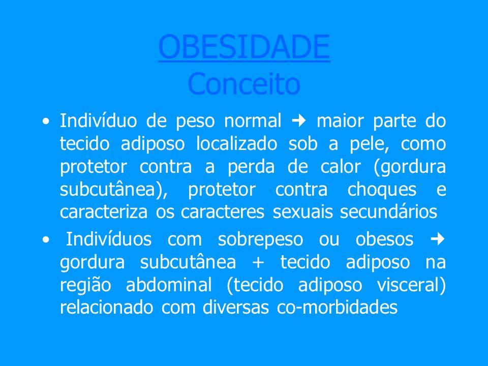 OBESIDADE Conceito