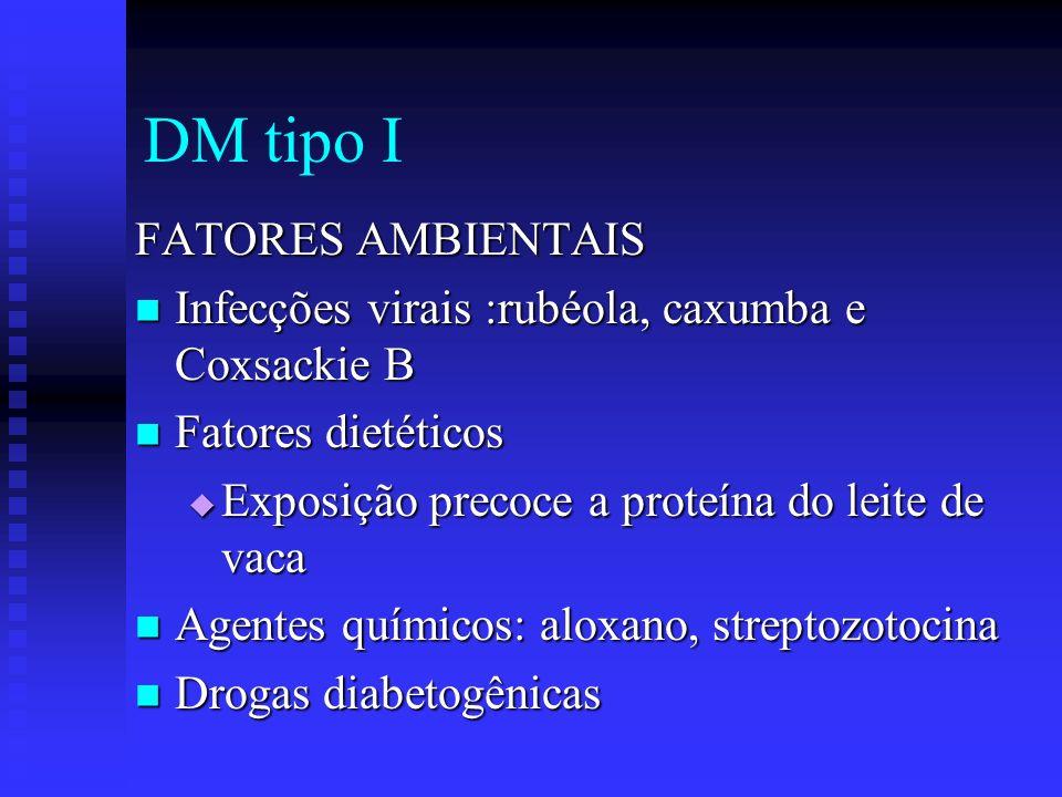 DM tipo I FATORES AMBIENTAIS