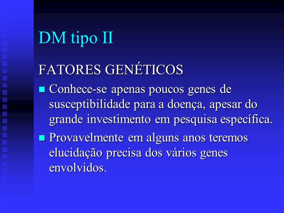 DM tipo II FATORES GENÉTICOS
