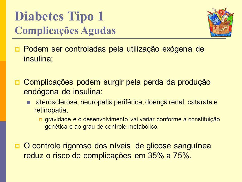 Diabetes Tipo 1 Complicações Agudas