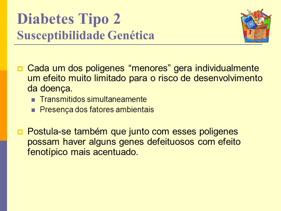 Diabetes Tipo 2 Susceptibilidade Genética