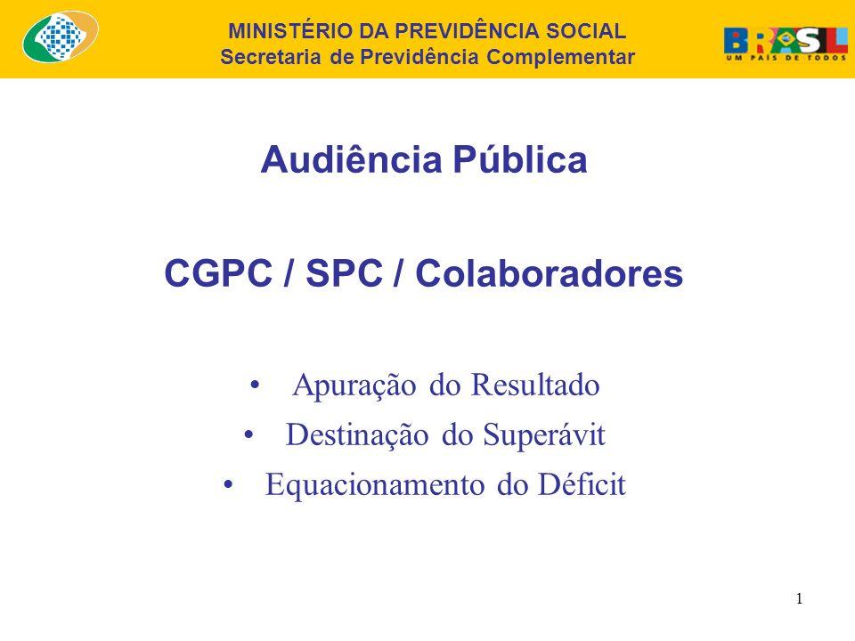 CGPC / SPC / Colaboradores