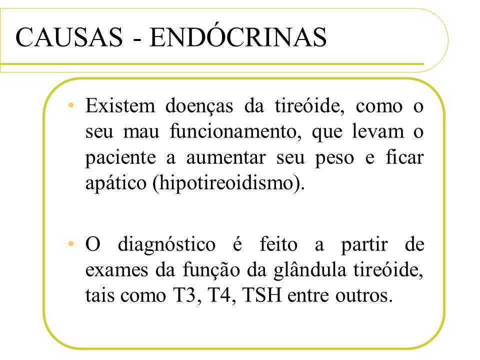 CAUSAS - ENDÓCRINAS