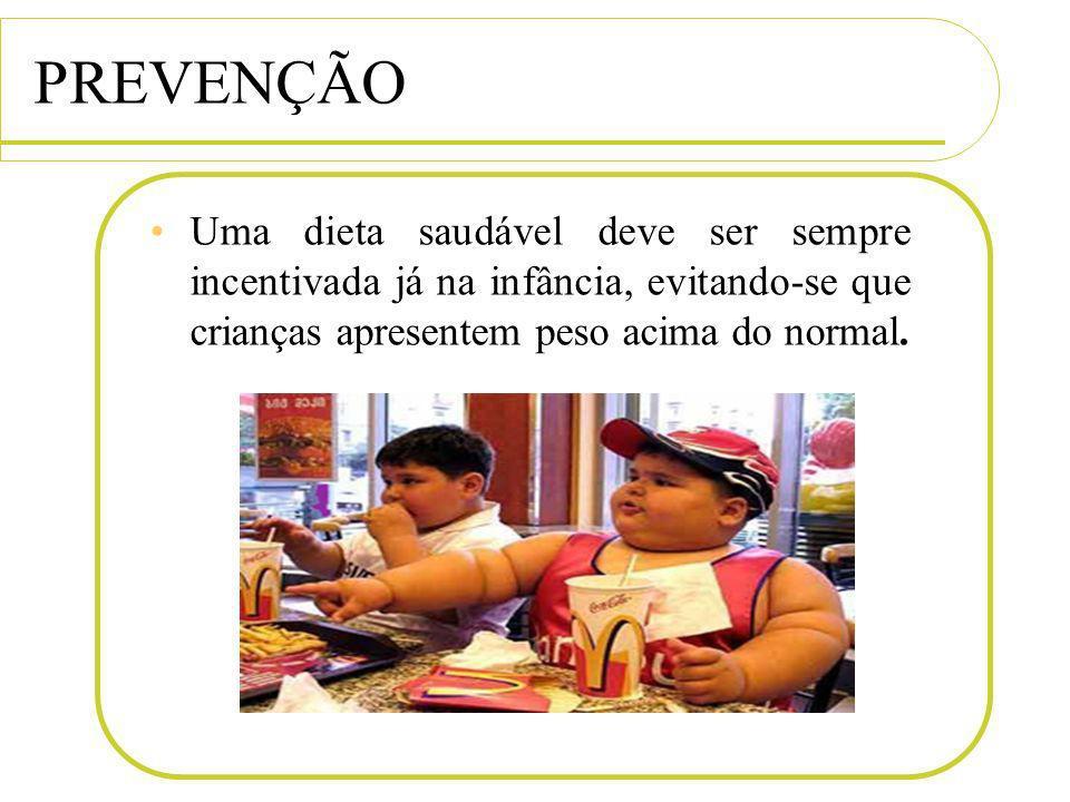 PREVENÇÃO Uma dieta saudável deve ser sempre incentivada já na infância, evitando-se que crianças apresentem peso acima do normal.