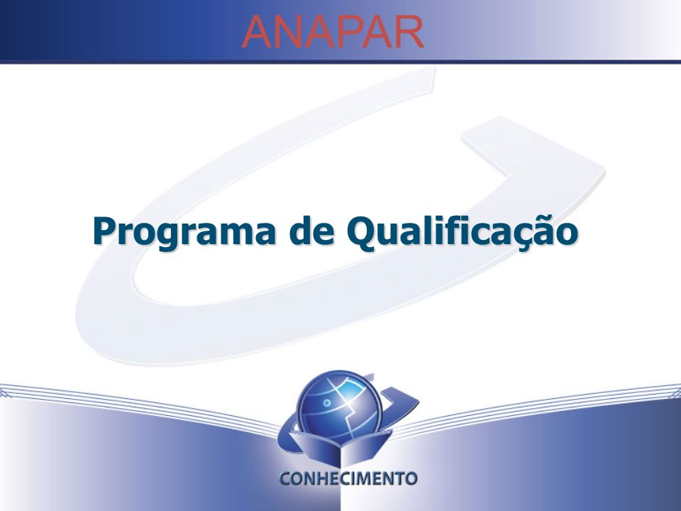 Programa de Qualificação
