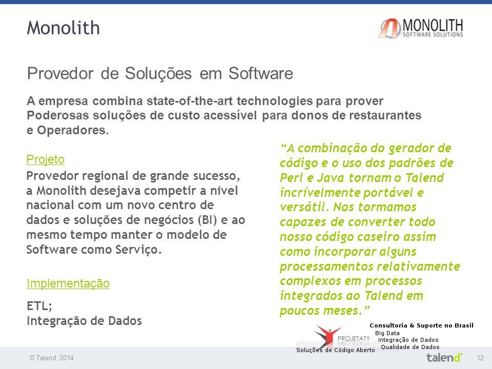 Monolith Provedor de Soluções em Software