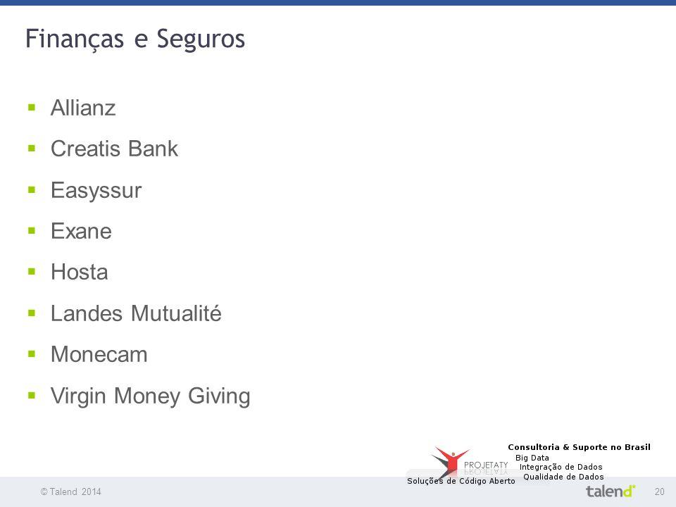Finanças e Seguros Allianz Creatis Bank Easyssur Exane Hosta