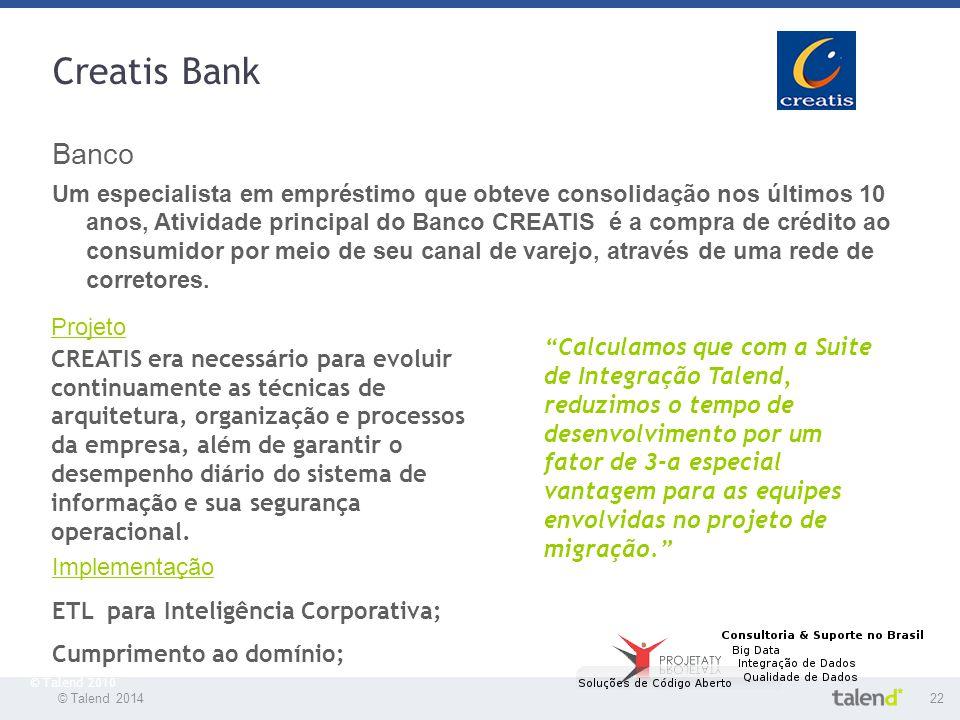 Creatis Bank Banco.