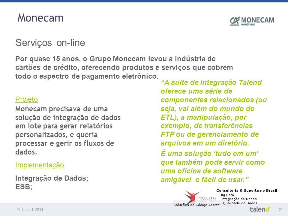 Monecam Serviços on-line