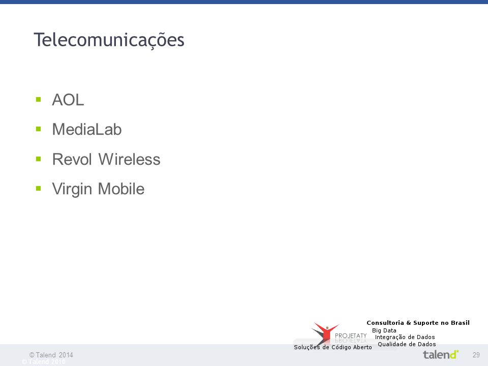 Telecomunicações AOL MediaLab Revol Wireless Virgin Mobile 29