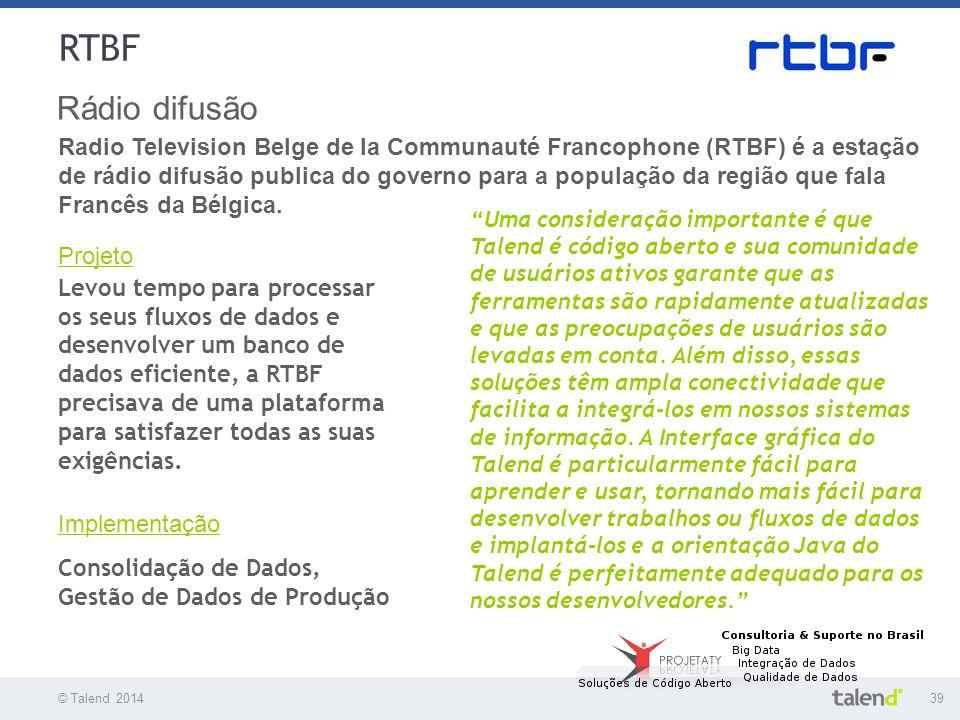 RTBF Rádio difusão.