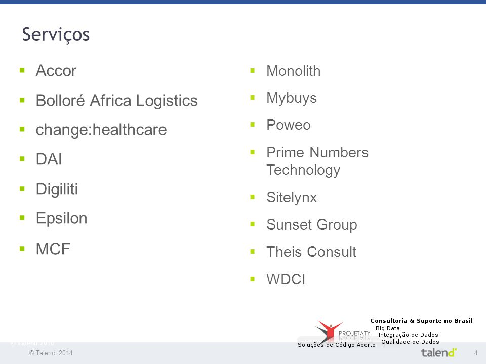 Serviços Accor Bolloré Africa Logistics change:healthcare DAI Digiliti