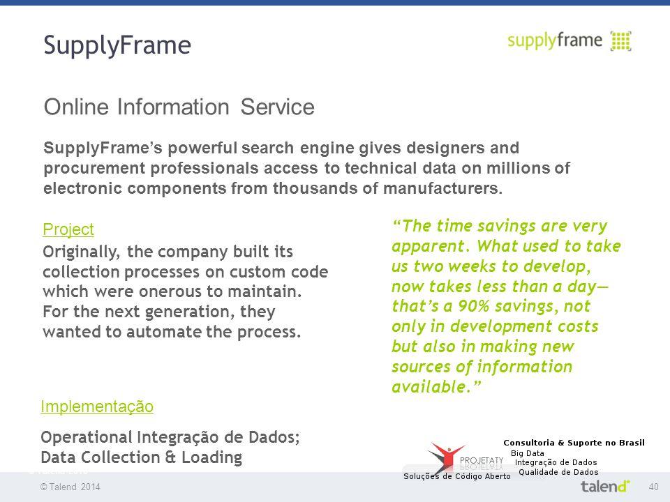 SupplyFrame Online Information Service