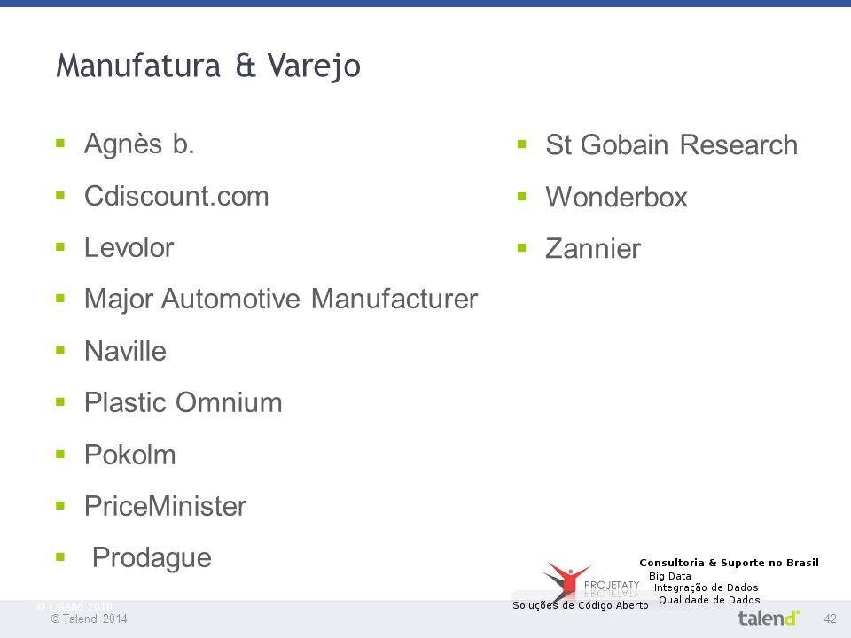 Manufatura & Varejo Agnès b. St Gobain Research Cdiscount.com