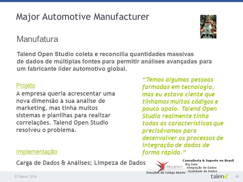 Major Automotive Manufacturer