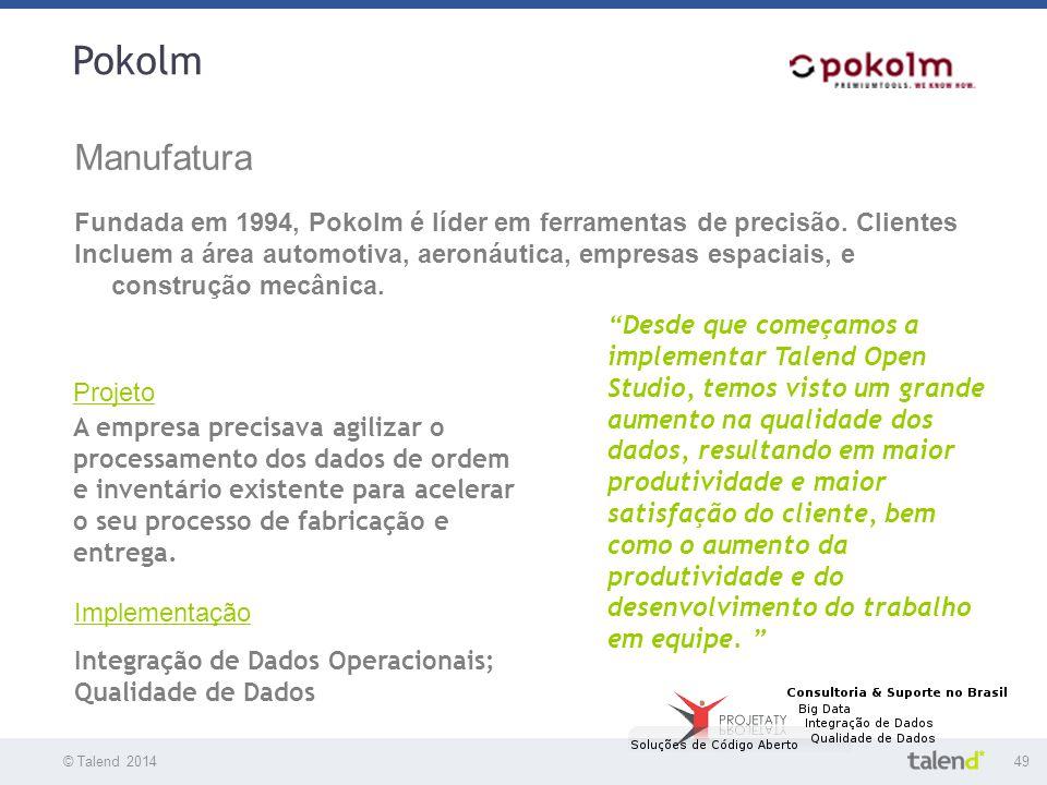 Pokolm Manufatura. Fundada em 1994, Pokolm é líder em ferramentas de precisão. Clientes.
