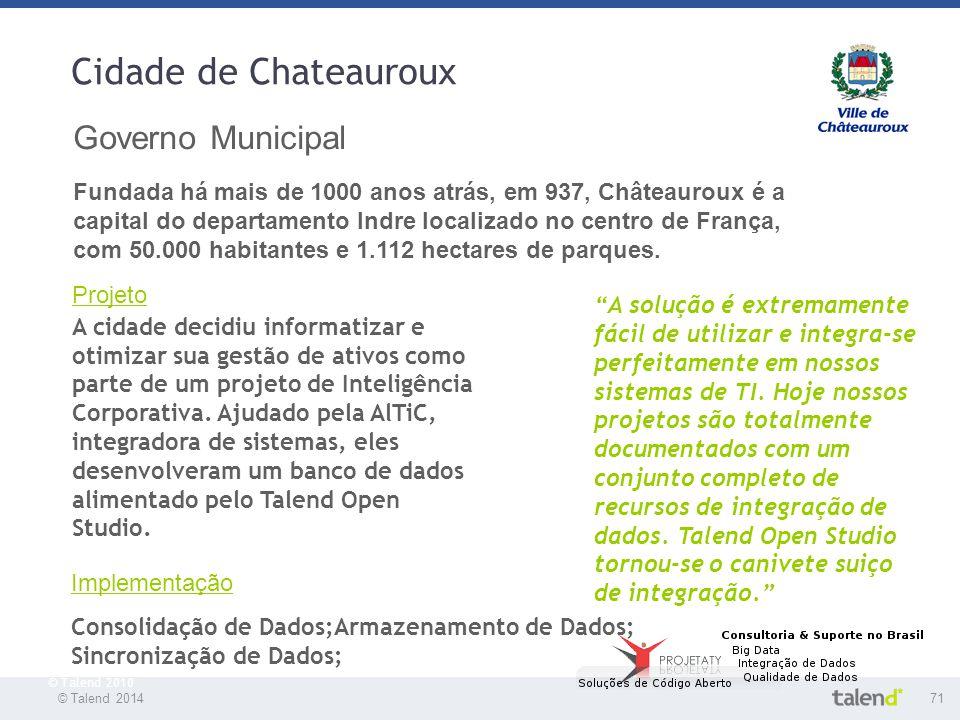 Cidade de Chateauroux Governo Municipal