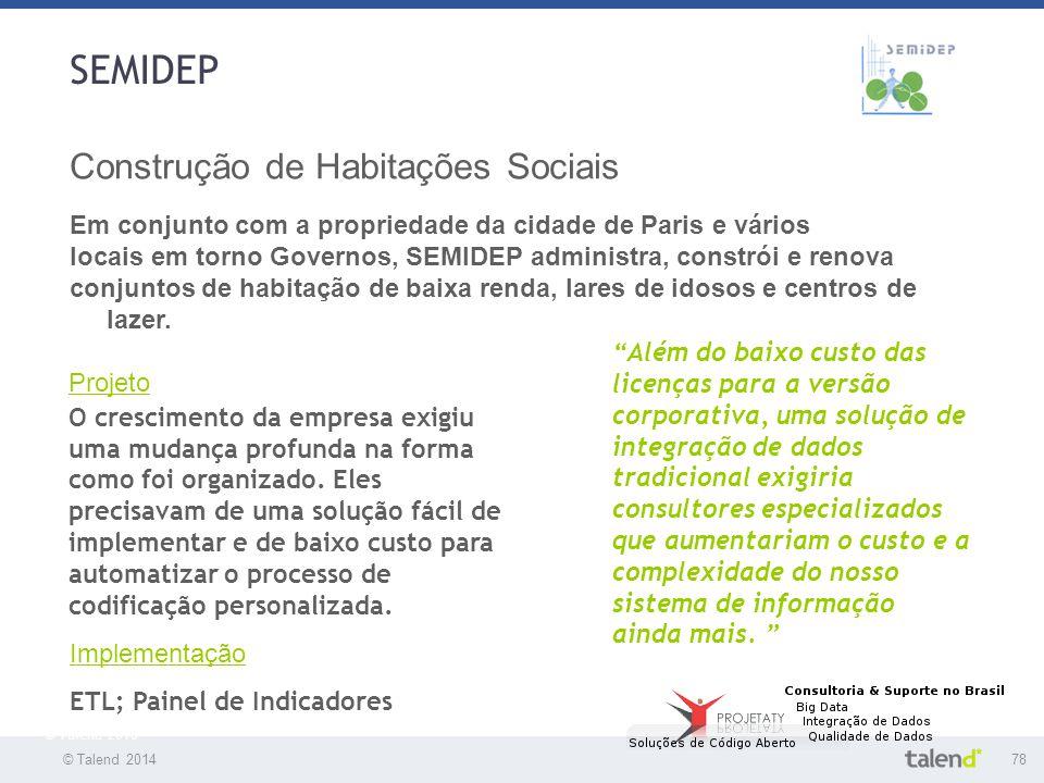 SEMIDEP Construção de Habitações Sociais