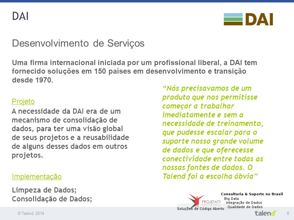 DAI Desenvolvimento de Serviços