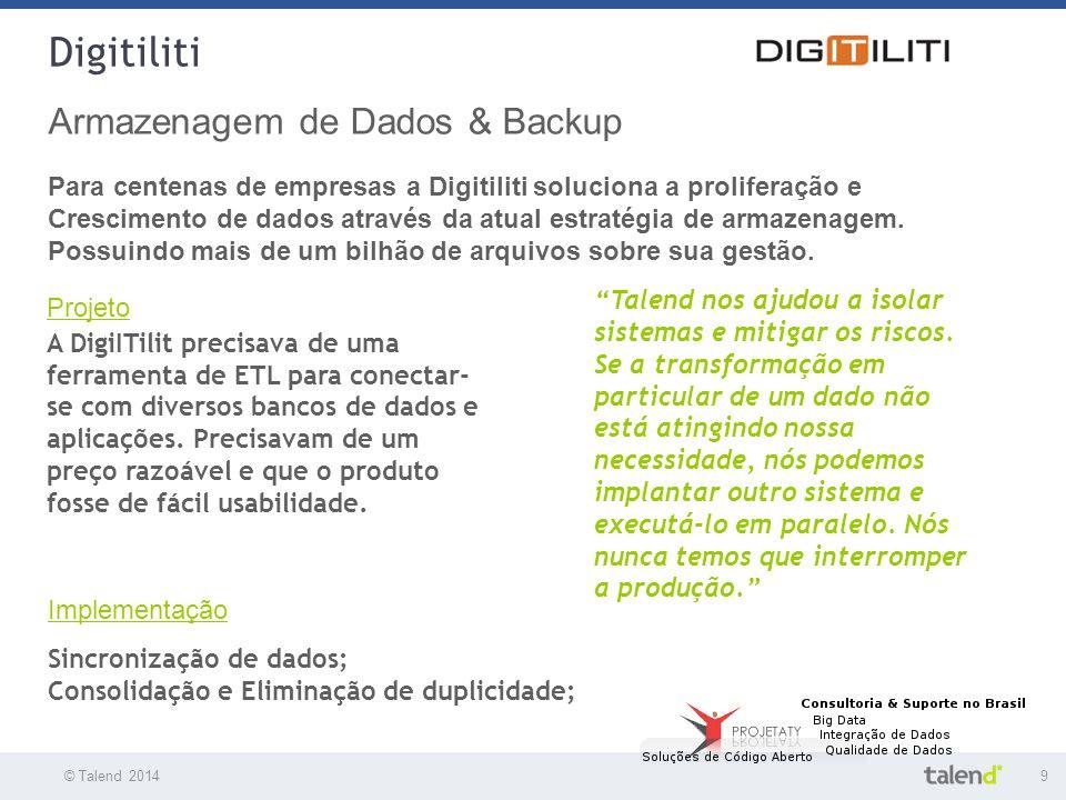 Digitiliti Armazenagem de Dados & Backup
