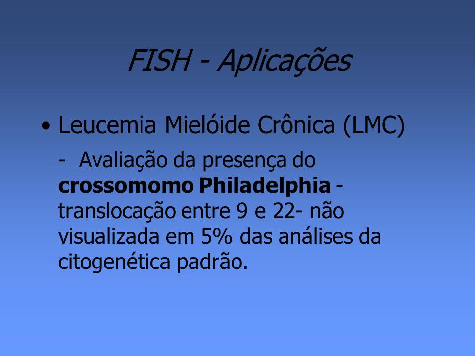 FISH - Aplicações Leucemia Mielóide Crônica (LMC)